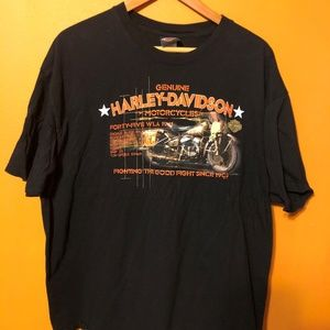 Harley-Davidson Men's Black Label Genuine Wings 2X